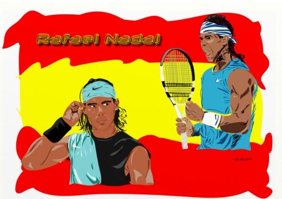 Rafael Nadal por Essex1984